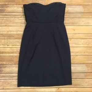 Ann Taylor Dresses - Ann Taylor Navy Blue Cocktail Dress, Size 6
